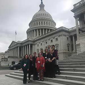The Kim Foundation Team at the Capitol